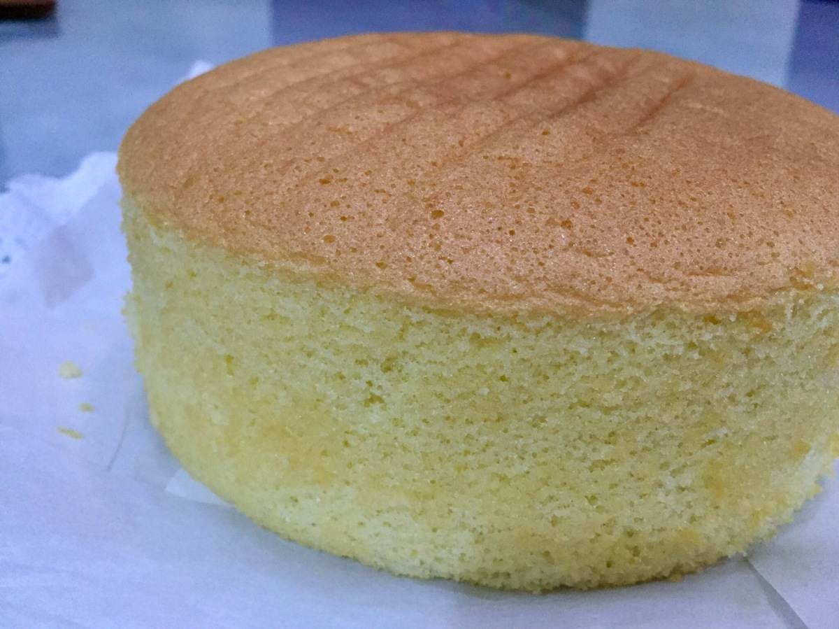 Easy Whole Egg Sponge