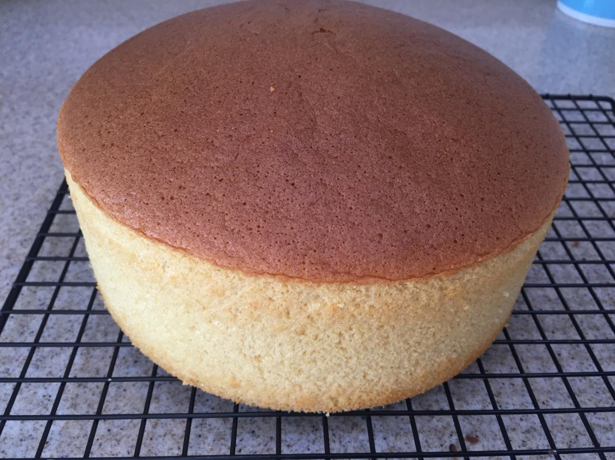 Gula Melaka Sponge Cake
