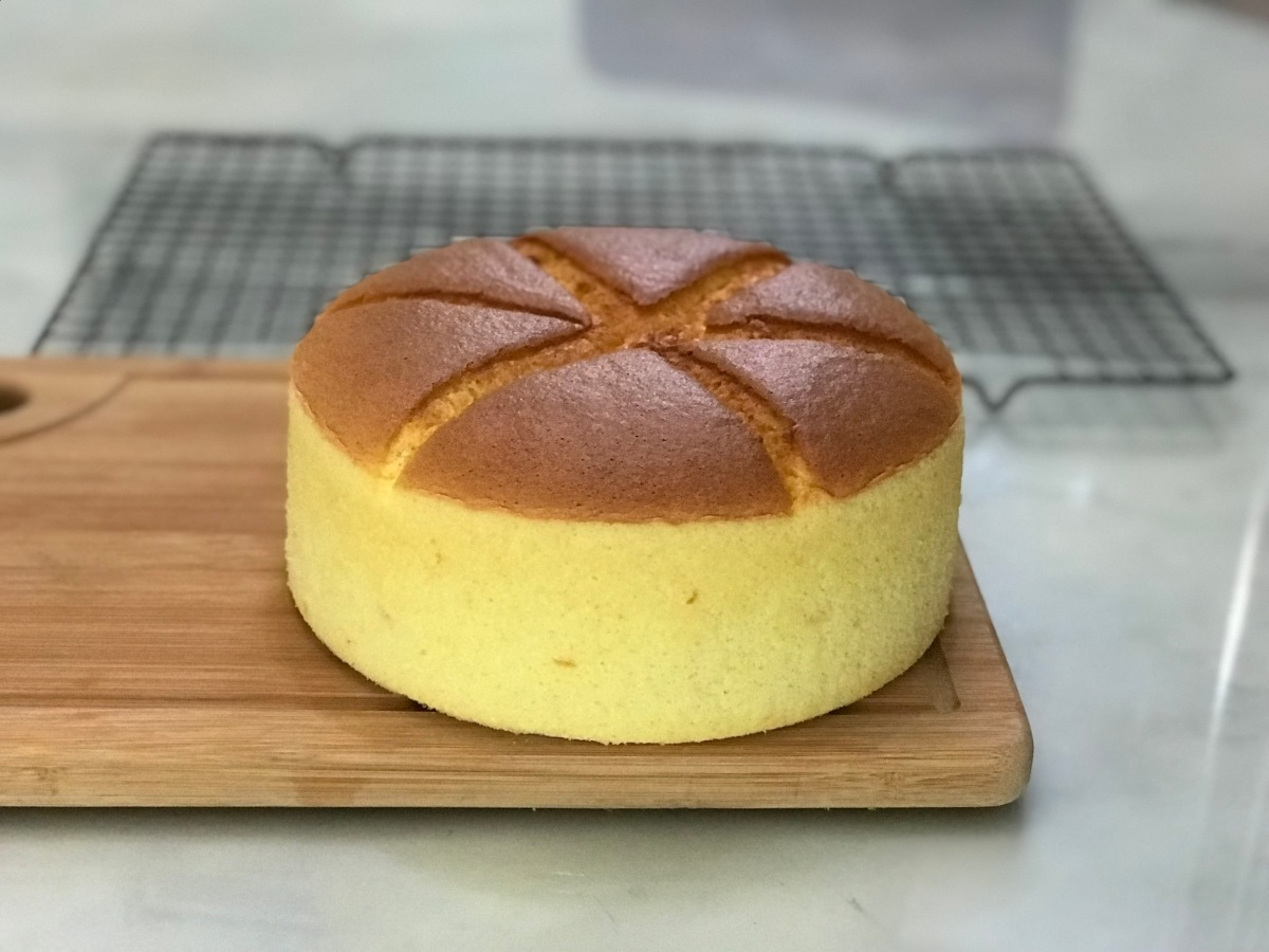 Orange Butter Cake 香橙轻牛油蛋糕